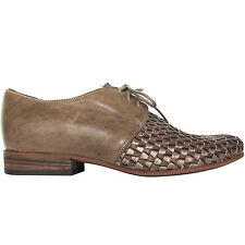 VIC Vic Matie scarpe lacci pelle italian leather lace-up shoes schuhe ботинки