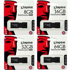 Kingston 8/16/32/64GB DataTraveler 100G3 USB3.0 Flash Drive Stick Speicherstick