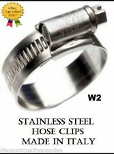 Stainless Steel Hose Clips 12mm Band Jubilee Type
