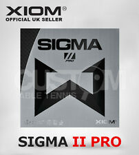 XIOM SIGMA PRO II TABLE TENNIS RUBBER OFFICIAL UK - CRAZY CLEARANCE PRICE!