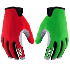 POC Index Air Gloves Thallium Green/Bohrium Red - Mountain Bike MTB Full Finger