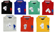 US Polo Pique Tshirts - Collar / Polo Neck (Many colours) - Surplus Item