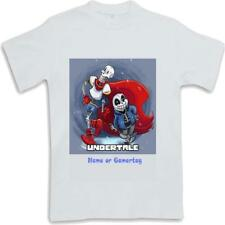 Personalised Printed Undertale Kids T Shirt Sublimated ages 3 to 13 Sans Papyrus