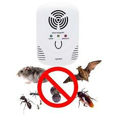 Dual Wave Bands Ultrasonic Insects Rats Mice Electronic Pest Control Repeller