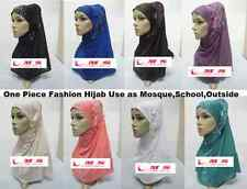 LATEST ISLAMIC PRAYER HIJAB UNDERSCARF KHIMAR SCARF SHIMMER HAT BONNET GIRS HIJA