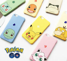 Popular Game Pokemon Series Cute Pikachu Shell Case Cover For iPhone 6 6S Plus