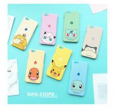 Popular Game Pokemon Series Lovely Pikachu Shell Case Cover For iPhone 6 6S Plus
