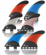 Surfboard thruster Fins Honey Comb & Carbon Fiber - TOP SURF GEAR AT HALF PRICE!
