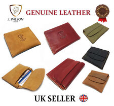 Mens Leather Slim Front Pocket Designer Wallet Cash Credit Card Money Holder