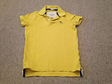 Abercrombie & Fitch Polo Shirt Yellow Adult Small (Z)