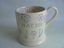 EMMA BRIDGEWATER  Ideas May Blossom Hay 2011 Half Pint Mug 1st Quality