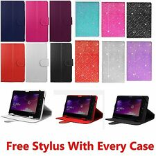 "Universal Folio Leather Flip Case Cover For Android Tablet PC 9.7"" 10"" 10.1"""