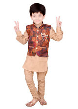 Kids ethnic dresses baby clothing boys suit kurta pajama & multi colour Jacket