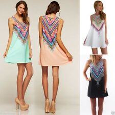 vestido etnico casual veraniego corto SHORT SUMMER ETHNIC MINI DRESS