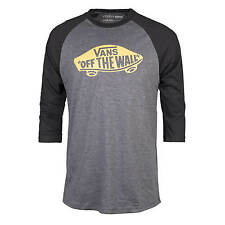 Vans OTW Old School Raglan Sleeve T-Shirt grau/gold/schwarz