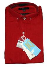 US Polo Men's Full Sleeve Linen Shirts - XL - (Slim Fit) with all Tags (Surplus)