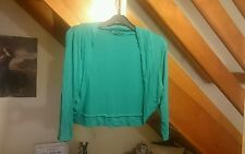 bolero shrug cardigan size 18 green summer