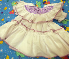DREAM BABY LILAC TULLE DRESS NEWBORN 5-8LB 0-3 MONTHS OR REBORN DOLL