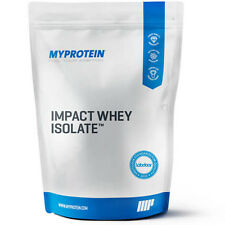 Myprotein Impact Whey Isolate 1kg / 2.5kg / 4kg / 5kg Low Fat & Carb Protein