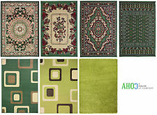 Green New Small X Large Shaggy Modern Traditional Soft Area Rugs Mat Carpet Rug