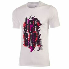 Nike Men's Air Jordan VII Vintage Cotton Tee White T-Shirt 687823