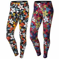 Nike Women's Leg-a-see Hawaiian Leggings Pants Joggers Black/Red/Yellow/Blue