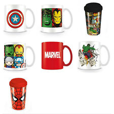 Marvel Mugs and Travel Mugs