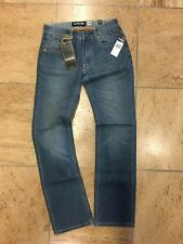 *ZOO YORK *BROOKLYN SLIM *JEANS *HOSE *NEU *BLAU *Original *MEDIUM BLUE