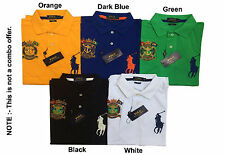 Men's Polo Big Pony Custom Fit T-shirts