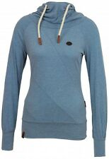 Naketano Damen Kapuzenpullover Mandy VIII Light Blue Melange