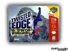 Twisted Edge Extreme Snowboarding Nintendo 64 N64 Game Case Box Professional Qua