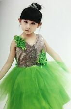 Baby And Blossoms New Arrival Bling Party Wear Net Frock Dress For Girls (5-7)