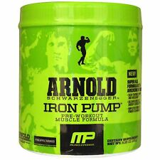 MusclePharm ARNOLD – Iron Pump 30 servings – PRE-WORKOUT