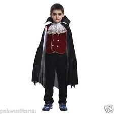 Baby And Blossoms Vampire Halloween Fancy Dress Cosplay Costume For Kids