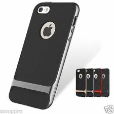 Rock Royce Case Double Layer Sleek Cover Case for Apple iPhone 5,5S, 6,6s