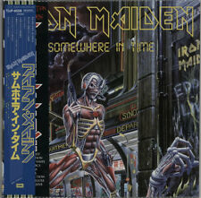 Iron Maiden Somewhere In Time Japanese picture disc LP vinyl album record