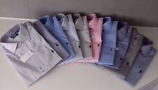 RALPH LAUREN MEN NAVY WHITE PINK REGENT TAILOR CUSTOM FIT SHIRT 15 15.5 16 16.5