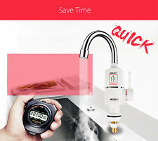 Tankless Instant Electric Hot Water Heater Faucet Kitchen Heating Tap SUK