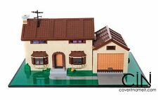 Simpsons Lego House Display Base & Case Acrylic box Perspex Model 71006