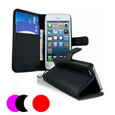 Etui Housse Coque Portefeuille Apple Iphone 4 - 4s