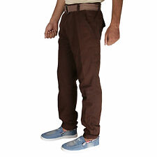Greentree Mens Cargo Trouser Track Pant 6 Pocket 100% Cotton Casual Cargo MASR61
