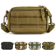 Men Nylon Waterproof Military Cross Body Shoulder Messenger Fanny Pack Waist Bag