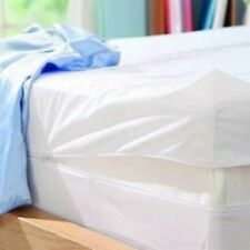 Fully Encased Waterproof Anti-Bed Bug Mattress Protector-135x190x25cms Double