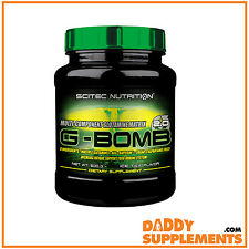 Scitec G-Bomb 2.0 500g Glutamine Helps metabolise Body Fat Support New Muscle