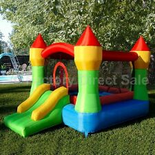 Inflatable Mighty Bounce House Castle Jump Moonwalk Bouncy - Blower Not Included