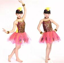 Baby And Blossoms Beautiful Peacock Dance Skirt Party Wear Costume For Kids