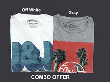 Mens Branded Slim Fit  Printed T-Shirts Set of 2 T-shirts. Combo Offer