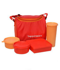 TUPPERWARE BEST LUNCH BOX WITH INSULATED BAG (NEW DESIGN & COLORS)