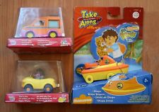 TAKE ALONG DORA THE EXPLORER FAMILY  VAN Or TICO'S CAR DIEGO'S WAVE SCOOTER TOY
