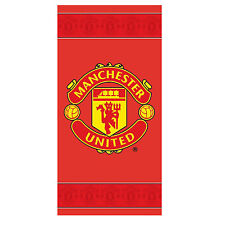 Manchester Utd F.C. Border Printed Swimming Beach / Bath Towel